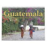 Calendario 2016 de Guatemala