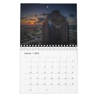 Calendario 2016 de Houston por