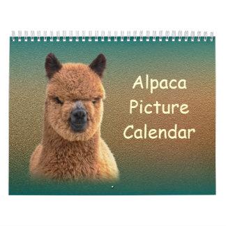 Calendario 2016 de la alpaca