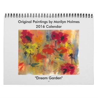 Calendario 2016 de la bella arte de Marilyn Holmes