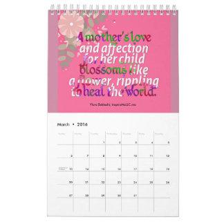 Calendario 2016 de la cita