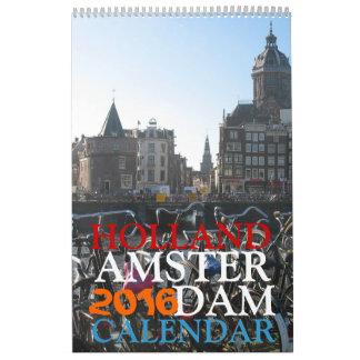 Calendario 2016 de la foto de Amsterdam