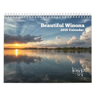 Calendario 2016 de la foto de Winona Minnesota