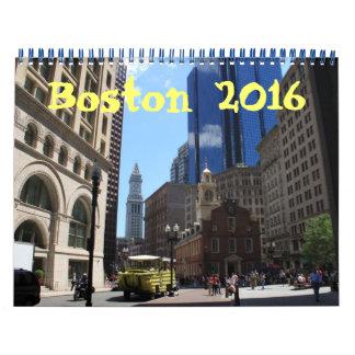 Calendario 2016 de la fotografía de Boston