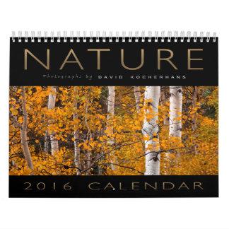 Calendario 2016 de la fotografía de la naturaleza