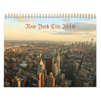 Calendario 2016 de la fotografía de New York City