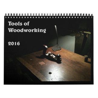 Calendario 2016 de la herramienta de mano de