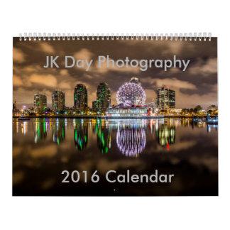 Calendario 2016 de la naturaleza de la fotografía
