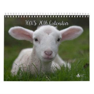 Calendario 2016 de la sociedad del vegano del