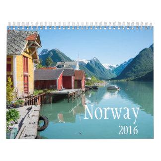 Calendario 2016 de Noruega