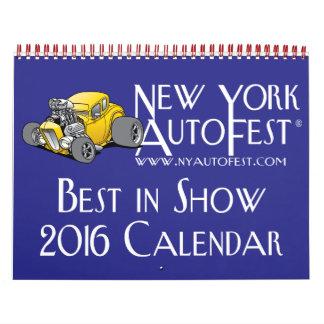 Calendario 2016 de Nueva York AutoFest