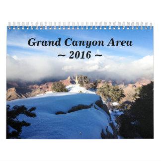 Calendario 2016 de pared del parque nacional del
