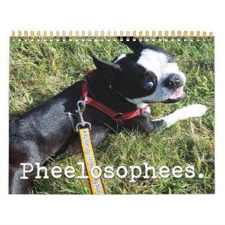 Calendario 2016 de Pheelosophees