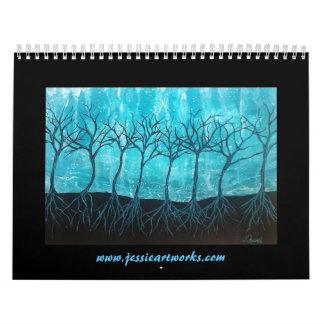 Calendario 2016 del arte de Jessie