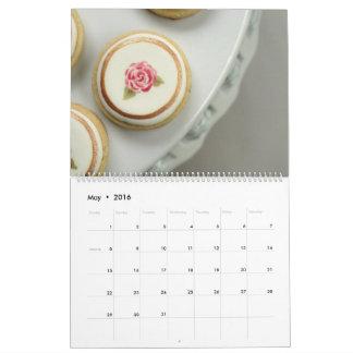 Calendario 2016 del arte de la galleta de