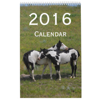 Calendario 2016 del caballo por Janz