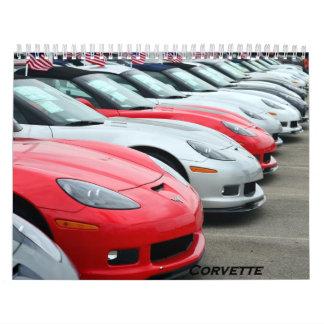 Calendario 2016 del Corvette