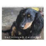 Calendario 2016 del Dachshund
