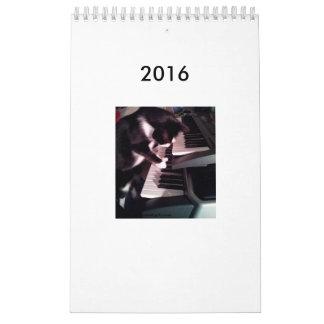 Calendario 2016 del dibujo animado de JokeApptv TM