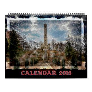Calendario 2016 del fantasma