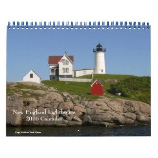 Calendario 2016 del Faro-Calendario de Nueva