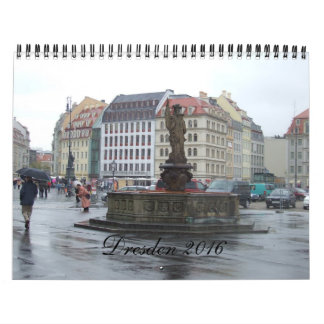 Calendario 2016 del viaje de Dresden Alemania
