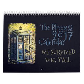 Calendario 2017 de Bloggess