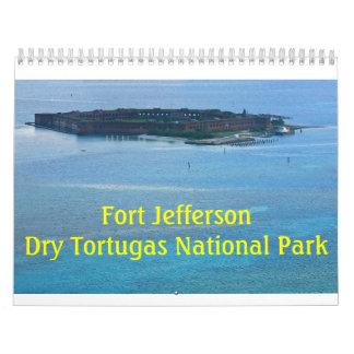 Calendario 2017 de Jefferson del fuerte