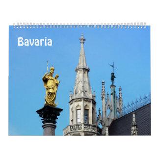 calendario 2017 de la foto de Baviera de 12 meses