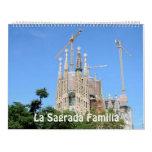 Calendario 2017 de la foto de Sagrada Familia del