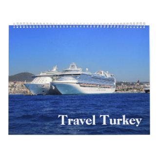 calendario 2017 de la foto de Turquía del viaje de