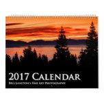 Calendario 2017 de la fotografía