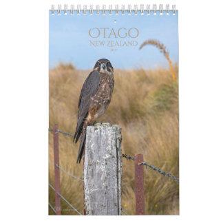 Calendario 2017 de Otago