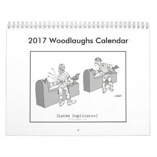 Calendario 2017 de Woodlaughs