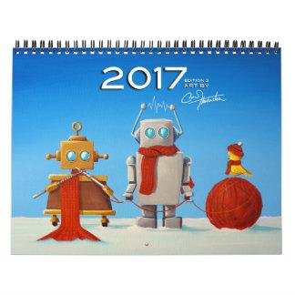 Calendario 2017 del arte de Cindy Thornton