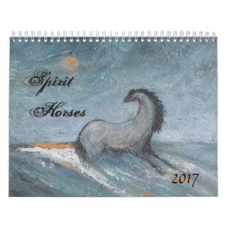 Calendario 2017 del caballo del alcohol