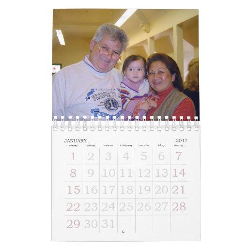 calendario 2 de la familia