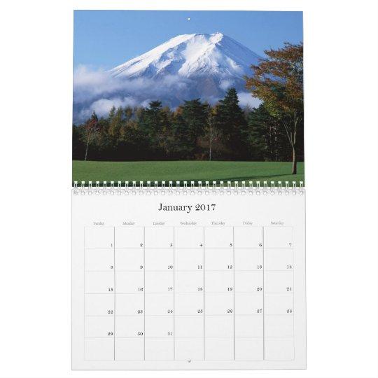Calendario 2 de la montaña