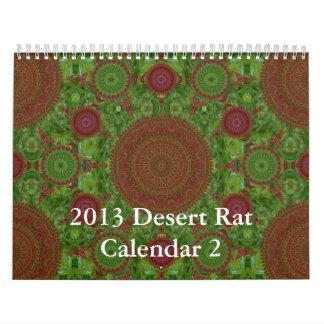 Calendario 2 de la rata de desierto 2013