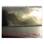 Calendario 2 del paisaje