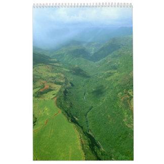calendario 3 de Hawaii 2010