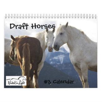 Calendario #3 de los caballos de proyecto