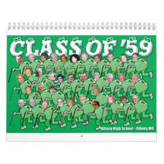 ' calendario 59er 2010