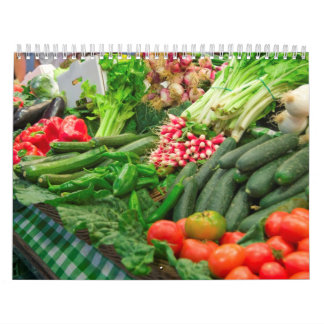 Calendario 8 de la fruta y de la comida