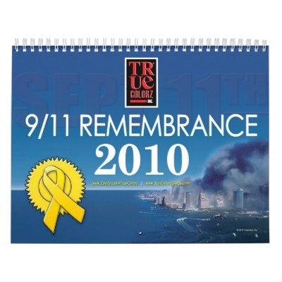 Calendario - 9/11 conmemoración