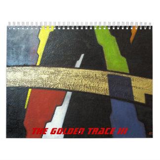 Calendario abstracto