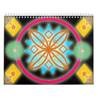 Calendario abstracto 2