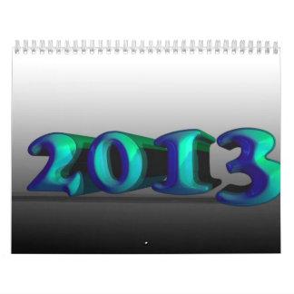 Calendario abstracto 2013
