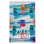 Calendario abstracto 2015