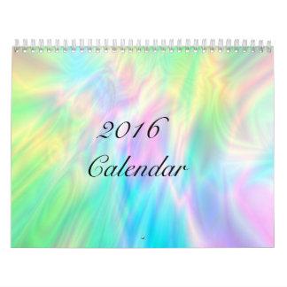 Calendario abstracto del arte de Digitaces